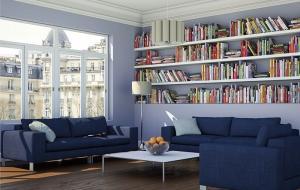 Greinplast elegance farba lateksowa for Biblioteczka w salonie